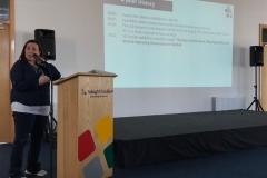 Niamh O\'Mahony presenting SD Europe